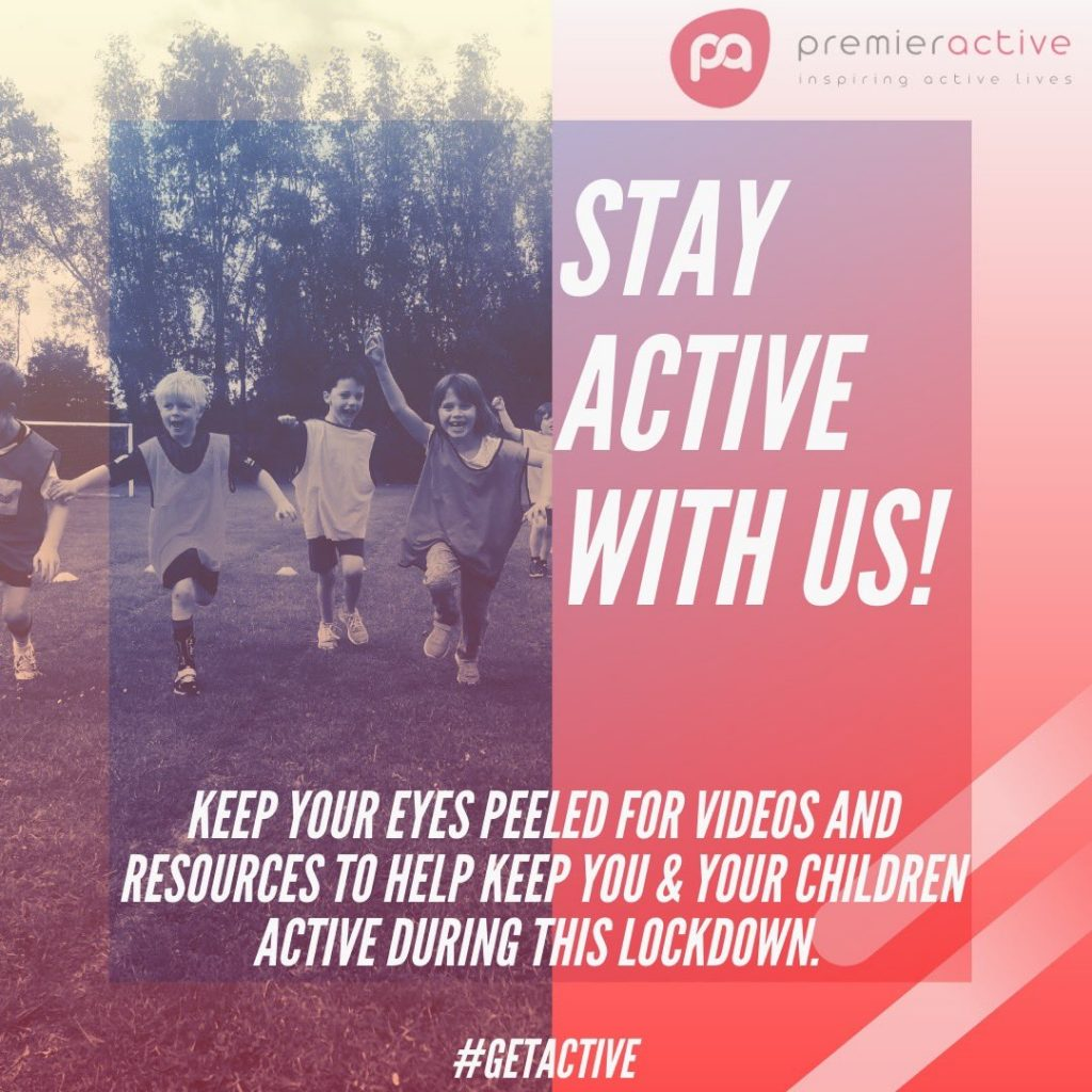 stay active graphic