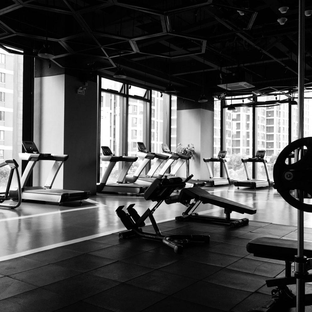 empty gym during lockdown